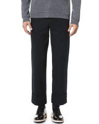 Carven - Blue Cargo Pants for Men - Lyst