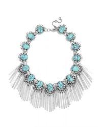 BaubleBar | Blue Showgirl Fringe Strand-turquoise | Lyst