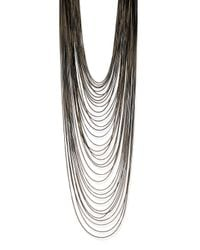 Rosantica | Metallic Millefili Multi-Layer Chain Necklace | Lyst