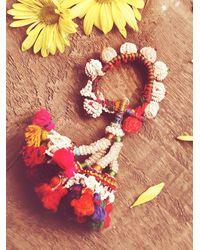 Free People - Multicolor Ceremonial Tassel Bangle - Lyst