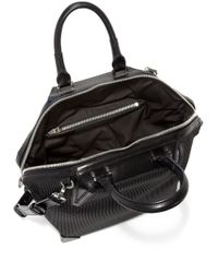 Alexander Wang - Black Prisma Neoprene Leather Emile Tote - Lyst