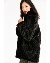 Just Female | Black Mawi Coat | Lyst