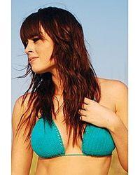 Beauty & The Beach - Blue Susie Q Top - Lyst