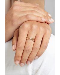 Melissa Joy Manning - Metallic 14-Karat Gold Interlocking Ring - Lyst