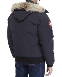 Canada Goose | Blue Chilliwack Bomber Jacket for Men | Lyst