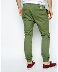 Native Youth | Green Chino Jogger for Men | Lyst