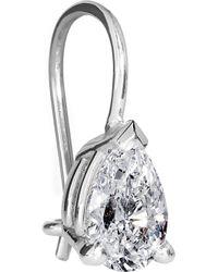 Spectrum - Metallic Natalia 18karat White Gold Diamond Earrings - Lyst