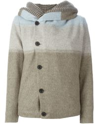 Stephan Schneider - Blue Gradient Hooded Cardigan - Lyst