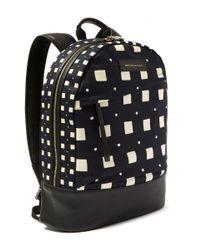 Want Les Essentiels De La Vie - Black Kastrup Cream Square Backpack - Lyst