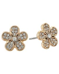 Marc By Marc Jacobs | Pink Pave Daisy Studs Earring | Lyst