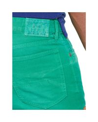 Ralph Lauren - Green Five-pocket Cotton Canvas Pant for Men - Lyst