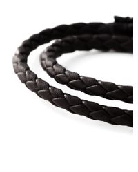 DIESEL | Brown 'Alibys' Bracelet for Men | Lyst