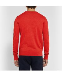 Hentsch Man | Red Merino Wool Sweater for Men | Lyst