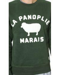 La Panoplie - Green La Sheep Sweatshirt for Men - Lyst