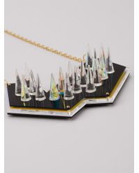 Sarah Angold Studio | Metallic Spiked Necklace | Lyst