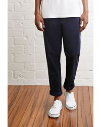 Forever 21 - Blue School Uniform Chinos for Men - Lyst