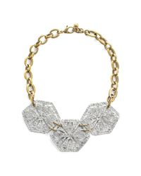 Lulu Frost - Metallic Atrium Statement Necklace - Lyst
