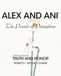 ALEX AND ANI | Gold Truth And Honor Narcissus Expandable Wire Bangle | Lyst