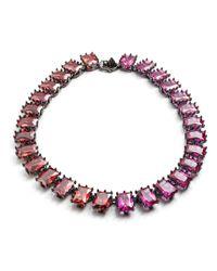 Eddie Borgo | Multicolor Rectangle Estate Necklace | Lyst
