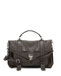 Proenza Schouler - Brown Ps1 Medium Satchel Bag - Lyst