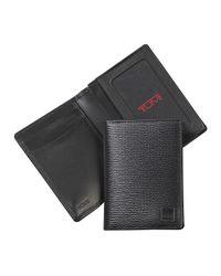 Tumi - Black Monaco Gusseted Card Case - Lyst