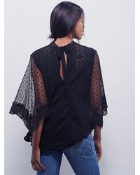 Free People | Black Womens Hard Candy Tee | Lyst