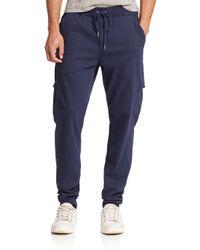 Joe's Jeans | Blue Combat Jogger Pants for Men | Lyst