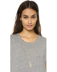 Gorjana | Metallic Morrison Necklace - Gold | Lyst