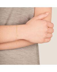 Dutch Basics | Metallic Tui Fine Chain Bracelet Rose Gold | Lyst