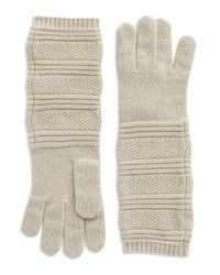 Portolano | White Cashmere Gloves | Lyst