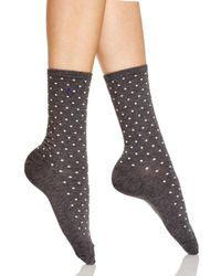 Ralph Lauren - Gray Medium Pindot Trouser Socks - Lyst
