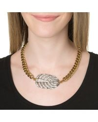 Lulu Frost | Metallic Single Drift Necklace | Lyst