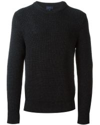 Lanvin - Blue Crew Neck Sweater for Men - Lyst