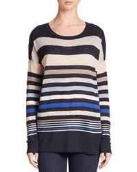 Vince - Multicolor Superwash Variegated Stripe Sweater - Lyst