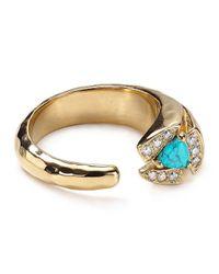 Melinda Maria - Blue Tatum Ring - Lyst