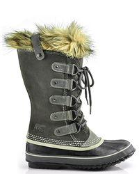 Sorel | Gray Joan Of Arctic Water-Resistant Boots | Lyst