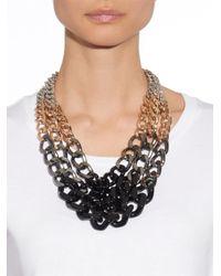 Max Mara - Metallic Zefir Necklace - Lyst