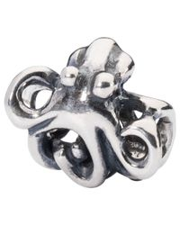 Trollbeads | Metallic Treasure Sterling Silver Charm | Lyst