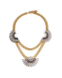 Lulu Frost - Metallic Beacon Statement Necklace - Lyst