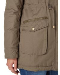 Linea Weekend - Natural Anaverna Faux Fur Lined Parka - Lyst