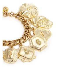 Lulu Frost - Metallic Victoria Plaza Number Charm Bracelet - Lyst