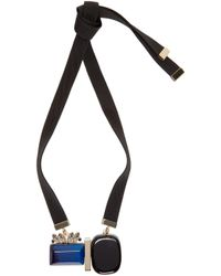 Marni | Blue Resin & Horn Necklace | Lyst