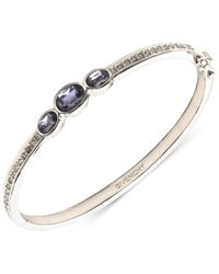 Givenchy - Metallic Crystal Bangle Bracelet - Lyst