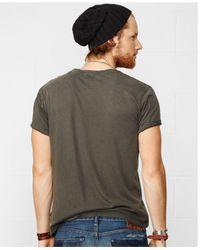 Denim & Supply Ralph Lauren - Gray Nickel Graphic Tee for Men - Lyst