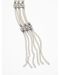 Free People | Metallic Womens Chain Ladder Necklace | Lyst