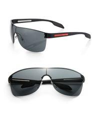 b5bbdf9ec5 Ray-ban Rb4265 Chromance Lens Wrap Sunglasses