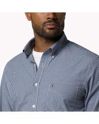 Tommy Hilfiger - Blue Big & Tall Shirt for Men - Lyst