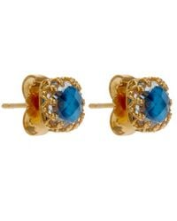 Larkspur & Hawk | Small Blue Jane Post Earrings | Lyst