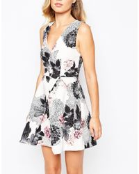 Keepsake - Multicolor Gone Girl Dress In Floral Print - Lyst
