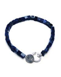 Gilbert Gilbert | Blue Lapis Lazuli Jos 15 Bracelet for Men | Lyst